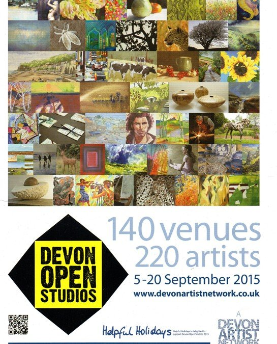 Devon Open Studios 5 – 20 September 2015