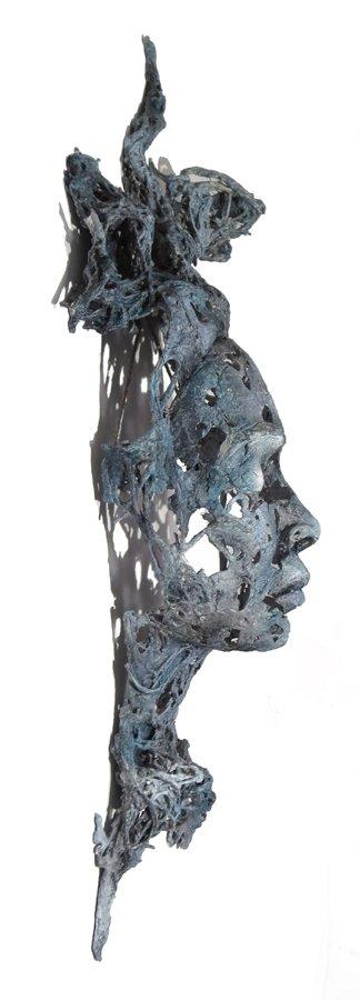 WRAITH 18 55cm x 24cm x 13cm  £180.00 Tel: 07443 542987 EM: info@bevknowldensculpture.com