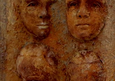 CHILD 10 detail Bev Knowlden Sculpture