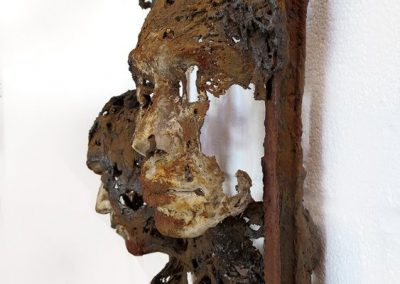TRACES OF US SOLD Bev Knowlden Sculpture