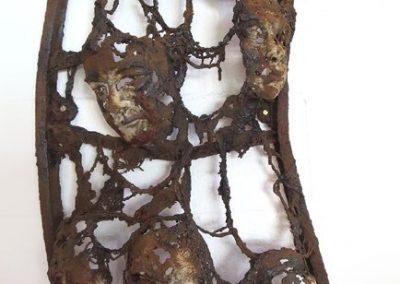 TRACES OF US Bev Knowlden Sculpture