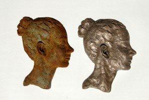 Bas-relief studies Bev Knowlden
