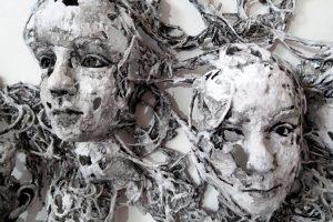 Child 5 Wraith Jesmonite Acrylic
