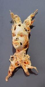 Wraith Bev Knowlden Sculpture Paperworks