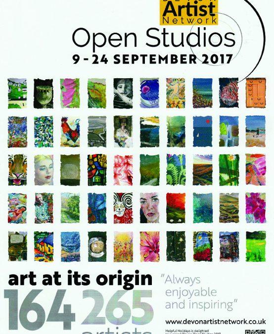 Devon Open Studios is fast approaching…