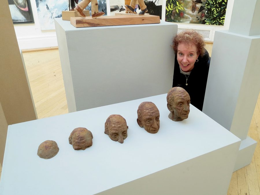 ME AND MY POP UP MOSSES AT THE RWA…