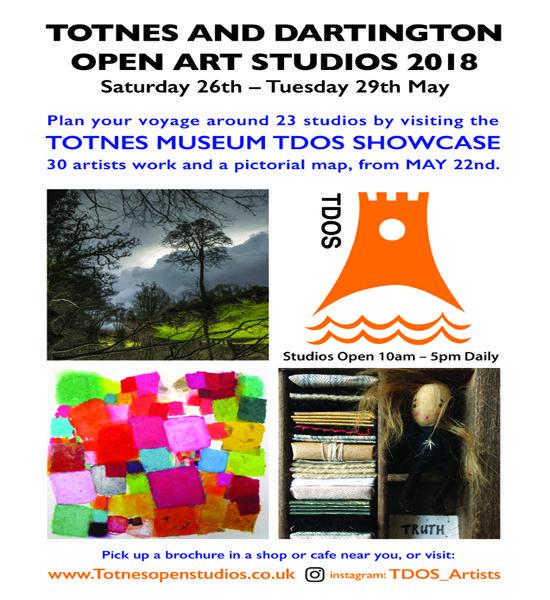 Totnes & Dartington Open Studios 2018
