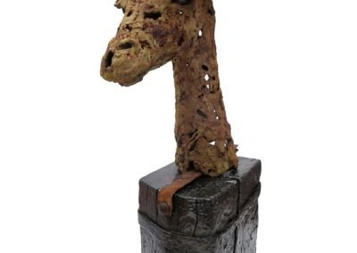THE OLD QUEEN 21cm x 68cm x 38cm £600.00 Tel: 07443 542987 EM: info@bevknowldensculpture.com