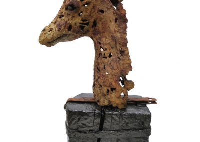 THE OLD QUEEN 21cm x 68cm x 38cm  FOR SALE £600.00 Tel: 07443 542987 EM: info@bevknowldensculpture.com