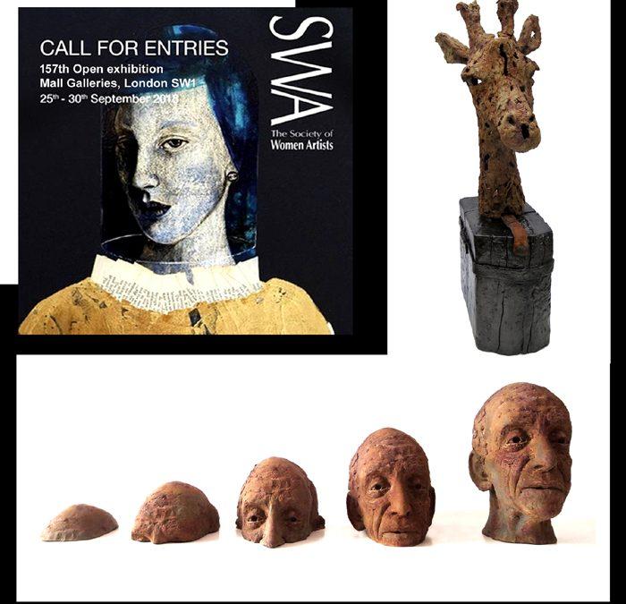 Society Of Women Artists Annual Exhibition 2018 bev knowlden sculpture