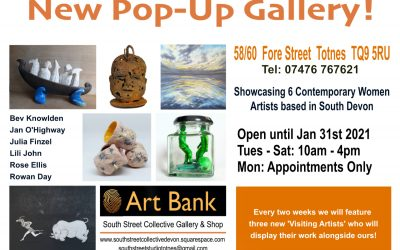 New Pop-Up Gallery: ART BANK!