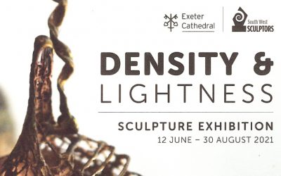 DENSITY & LIGHTNESS  Sculpture Exhibition – EXETER CATHEDRAL 12th June – 30th August 2021